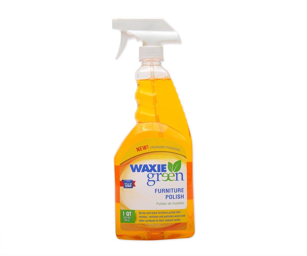 WAXIE-Green 051080632W  Furniture Polish, 32 oz Bottle (Case of 6)
