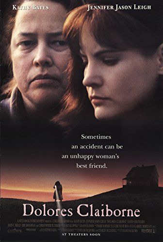 Dolores Claiborne 1995 Authentic Original Movie Poster Rolled Fine, Very Good Christopher Plummer Mystery