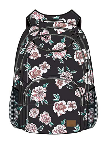 Roxy Women's Shadow Swell Backpack, Anthracite AXS Sept, 1SZ (Backpack Laptop Roxy)