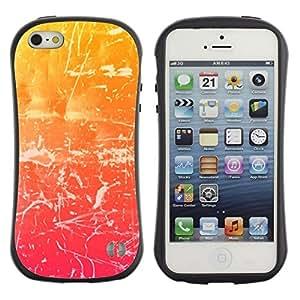 Suave TPU GEL Carcasa Funda Silicona Blando Estuche Caso de protección (para) Apple Iphone 5 / 5S / CECELL Phone case / / svet cvet shtrih uzor haos () /