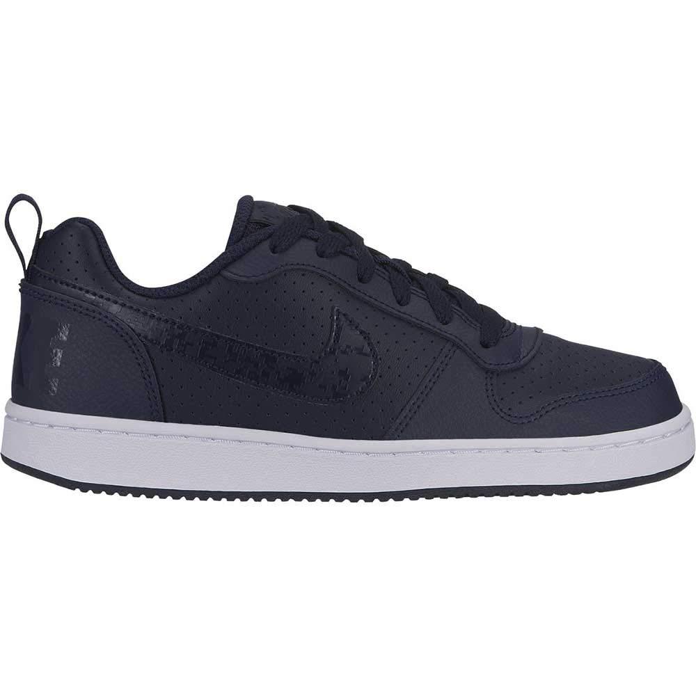 TALLA 36 EU. Nike Court Borough Low (GS), Zapatillas de Baloncesto para Niños