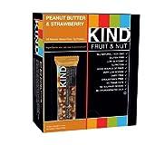 KIND Fruit & Nut Peanut Butter & Strawberry Snack Bar 1.4 oz (Pack of 12)