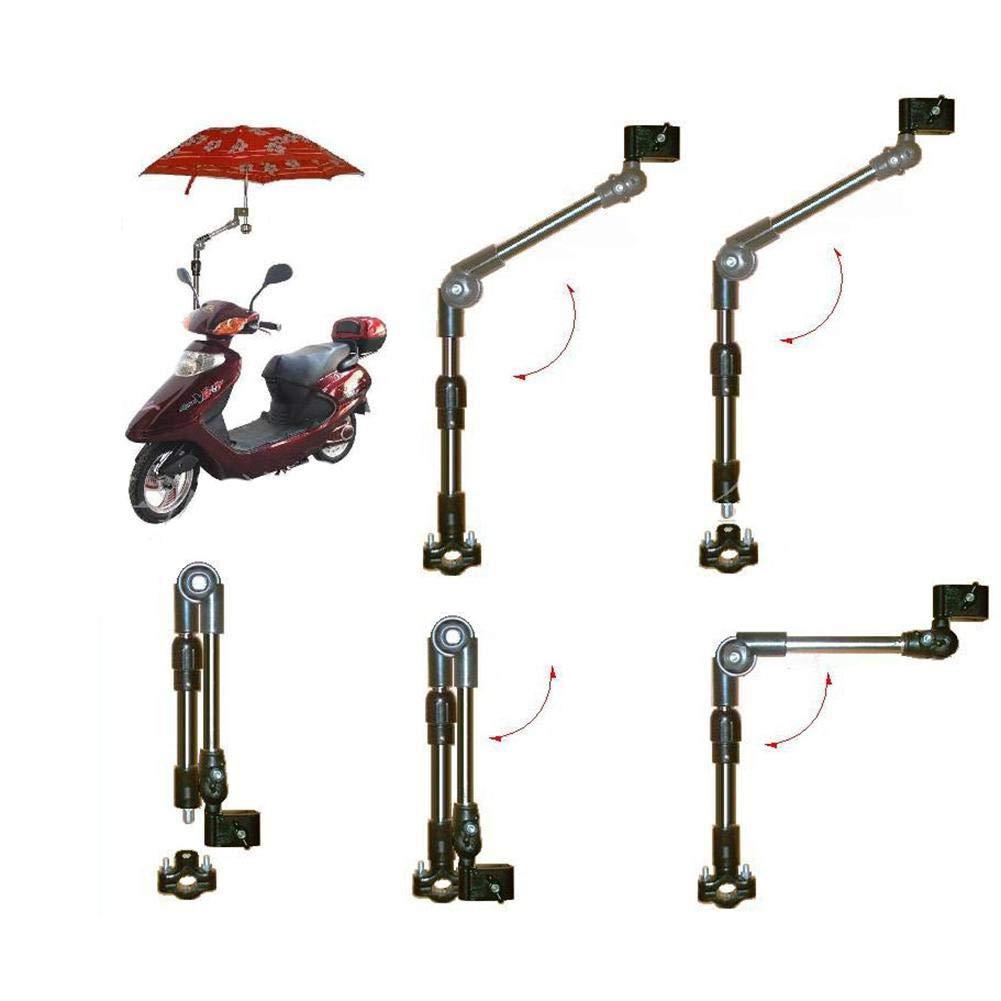 Fauteuil Roulant Bras Flexible Permettant Un Positionnement Sous Tous Les Angles P/êche R/étractable Poussette Support De Parapluie De Balcon Comme Support De Parapluie Porte-parapluie Pour V/élo