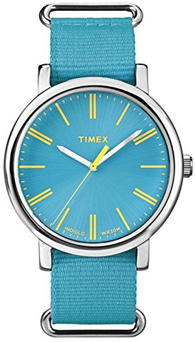 Timex Analog Blue Dial Unisex Watch – T2P3636S