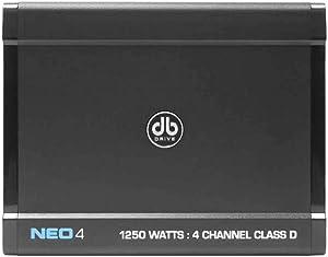 db Drive NEO4 Class D 4 Channel Amplifier 1250W