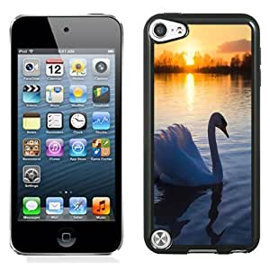 Popular And Unique Designed Case For iPod 5 With Swan On The Lake Phone Case Cover