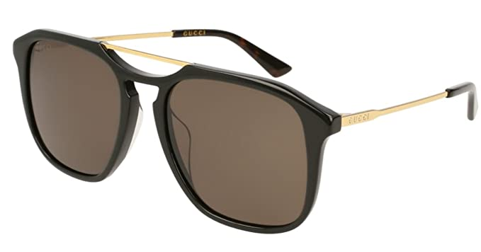 Amazon.com: Gucci GG0321S 005 GG0321S - Gafas de sol ...