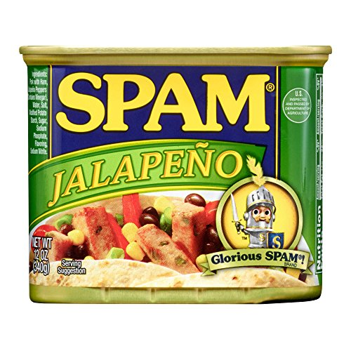 Spam Jalapeño, 12 Ounce Can