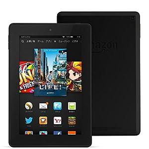 Fire HD 7タブレット―8GB、ブラック