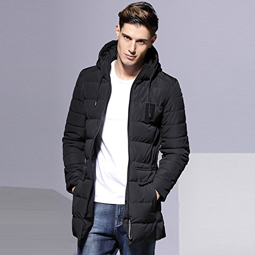 XXXL In men casual for HHY long winter warm the style fashion black clothes thick OSdwqpd