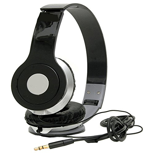 5PLUS Wired Stereo Bass 3DSound Headphones for Iphone, Smart phones   Laptop