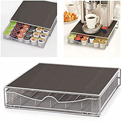 TheBigShip® monodosis de café cajón de almacenamiento soporte de cafetera Nescafe Dolce Gusto Nespresso: Amazon.es: Hogar