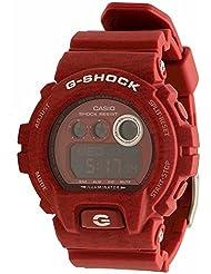 Casio G-Shock Red-Tone Digital Dial Resin Quartz Mens Watch 10019180