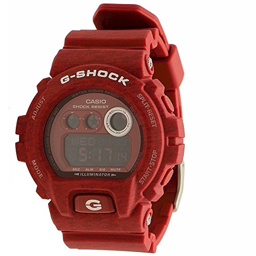 Casio G Shock Red Tone Digital 10019180
