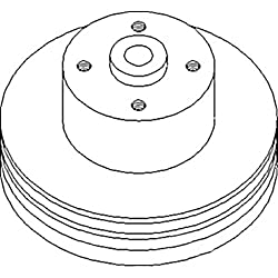 R47126 New Water Pump Pulley Made to Fit John Deer