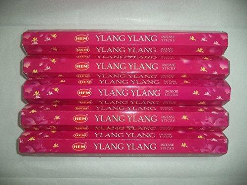 HEM Ylang Ylang 100 Incense Sticks (5 x 20 stick -