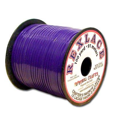 Springfield Leather Company's Rexlace Purple Plastic Lace