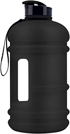 TOOFEEL Large Sports 2.2L Water Jug Big Reusable Water Bottle 75oz Half Gallon Hydro Container Canteen BPA Free Leak-Proof for Gym Fitness Athletic