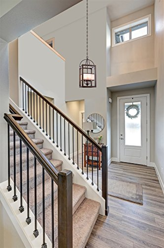 Kira Home Raven 23 Quot 4 Light Rustic Traditional Foyer