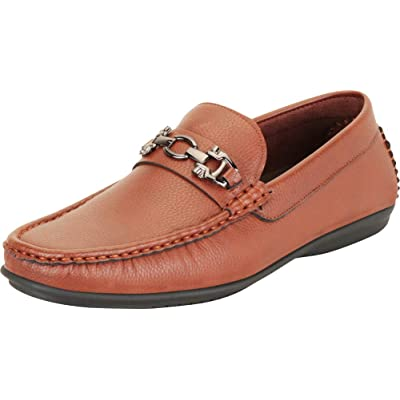 Cambridge Select Men's Horsebit Slip-On Driving Moccasin Loafer | Loafers & Slip-Ons
