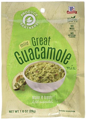 Produce Partners Guacamole Mix, mild, 1-oz. packet ()