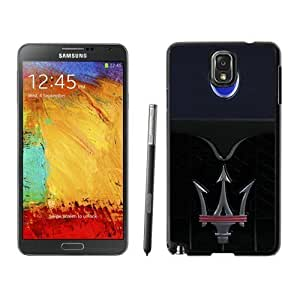 Durable Case Maserati logo 4 Samsung Galaxy Note 3 Case in Black WANGJING JINDA