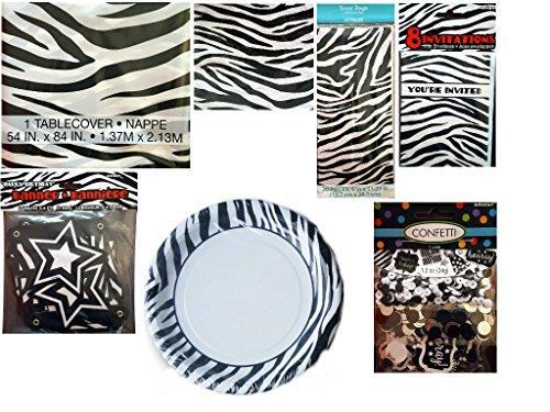 Zebra Plates - 9