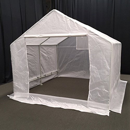 51 4Of3rtOL - King Canopy GH1010 10-Feet by 10-Feet Fully Enclosed Greenhouse, Clear