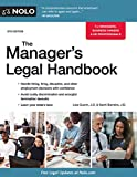 img - for Manager's Legal Handbook,The book / textbook / text book