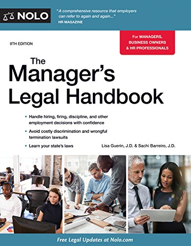 EBOOK Manager's Legal Handbook,The<br />[R.A.R]