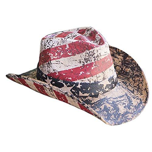 Distressed Cowboy Hat - 9