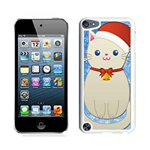 Recommend Design Christmas snowman Cat White iPod Touch 5 Case 1