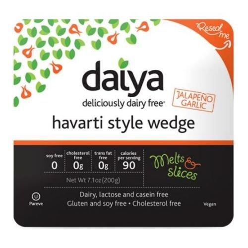 Daiya Jalapeno Garlic Havarti Style Cheese Wedge, 7.1 Ounce -- 8 per case. by Daiya (Image #2)