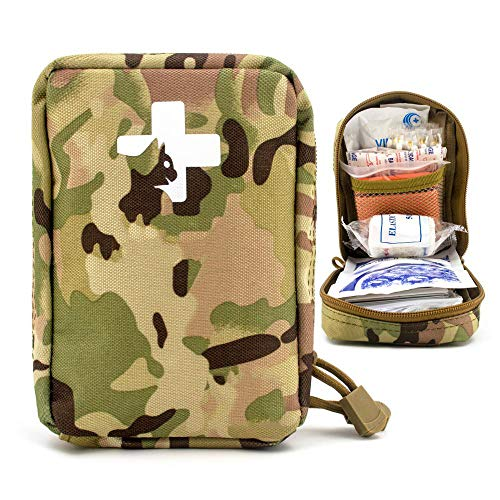 Yuan Ou Trousse de Secours Pet First Aid Kit Survival Kit Military Dog Emergency Set Bag Medicine Organizer 5