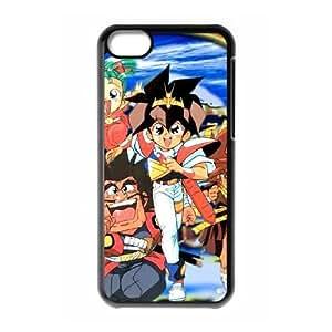 MASHIN HERO Wataru 04 funda iPhone funda caso 5c del teléfono celular cubierta negra, funda iPhone 5c casos Funda negro