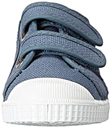 Cienta 78020 Velcro Fashion Sneaker (Toddler/Little Kid/Big Kid), Denim, 23 EU(6.5 M US Toddler)