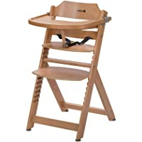 Safety 1st Timba Wysokie krzesełko rosnące wraz z dzieckiem ze stołem natural wood