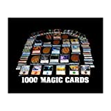 1000 Magic the Gathering Cards Lot With 100 Lands! MTG! Includes Foils & Rares! by unbranded