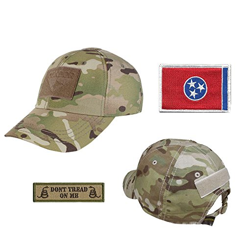 US State Operator Cap Bundle - With State & Dont Tread On Me Patches - Tennessee