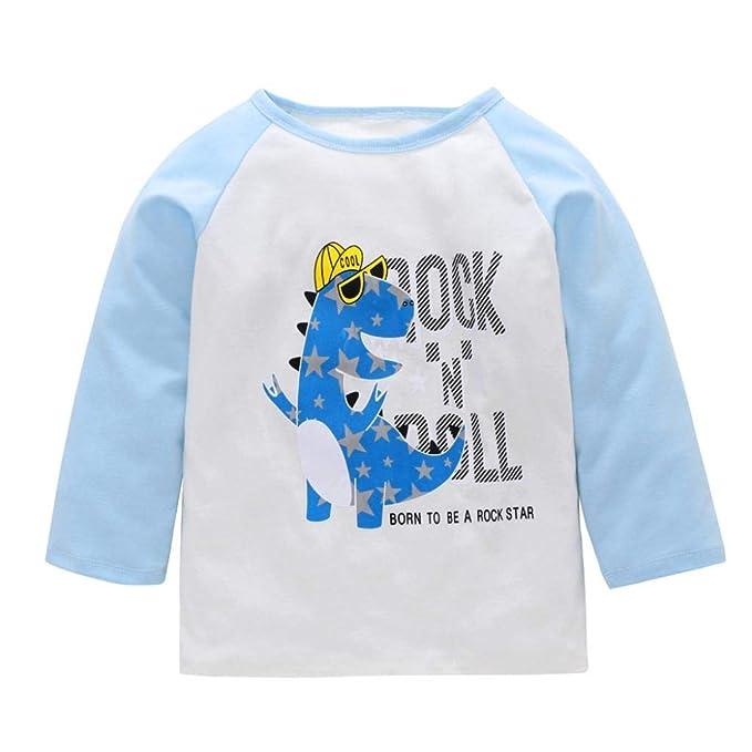 Amazon.com: Camiseta para bebés y niñas con diseño de ...