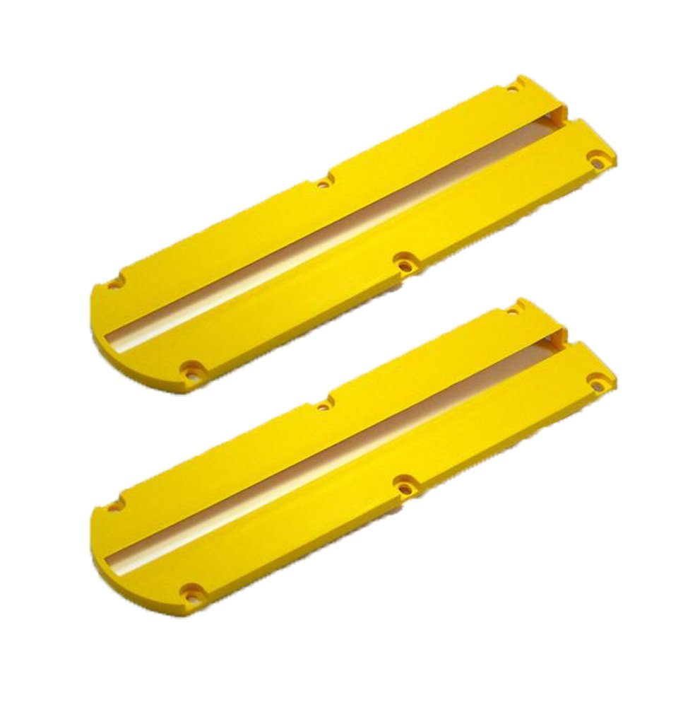 Dewalt DW703/DW704/Dw705/DW715/DW716 Miter Saw Replacement (2 Pack) Kerf Plate # 146726-02-2pk by DEWALT