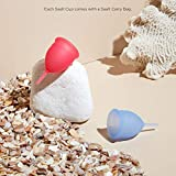 Saalt Menstrual Cup 2-Pack - Premium Design - Most