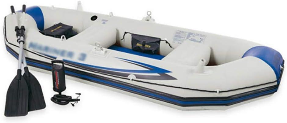 インフレータブルボート、3人の厚さの漂流ボート、レジャーエンターテインメントインフレータブルボートヨット、アサルトボートインフレータブル釣りボートサイズ:297 * 127 * 46 cm