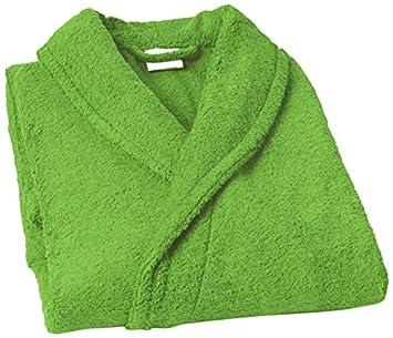 Home Basic Kids - Albornoz con capucha para niños de 14 años, color pistacho: Amazon.es: Hogar
