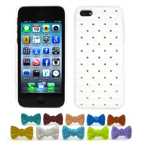 quilted diamond iphone case - 1