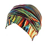 Women's Head Scarf Chemo Cancer Hat Cap Sleep Turban Head Wraps Headwear Traceless Bonnet Cap Night Hat