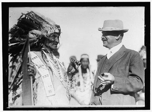 Photo Reprint Fitzgerald, John J. Rep. From New York, 1899-1917. At Glacier National Park 1915