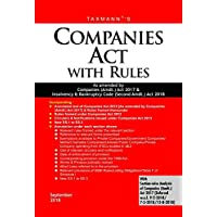 Companies Act with Rules-As Amended by Companies (Amdt.) Act 2017 & Insolvency & Bankruptcy Code (Second Amdt.) Act 2018 (Paperback Pocket Edition) (September 2018 Edition)