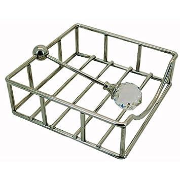 Diamond servilletero servilleta dispensador cocina comedor decoración de la mesa: Amazon.es: Hogar