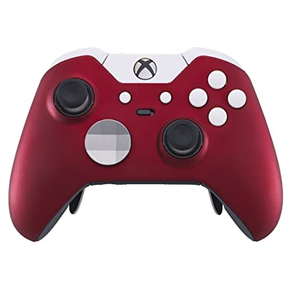 Elite Controller   Polar Red Edition (Xbox One) by Custom Controllers Uk
